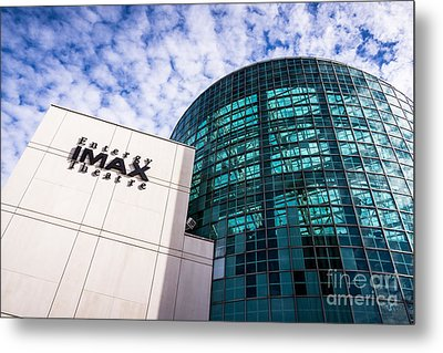 Entergy Imax Theatre In New Orleans Metal Print by Paul Velgos