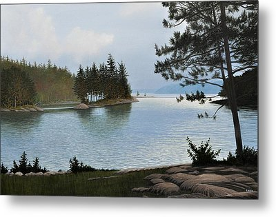 Equanimity Metal Print by Kenneth M  Kirsch