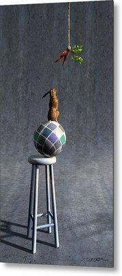 Equilibrium II Metal Print by Cynthia Decker