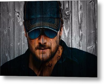 Eric Church Metal Print by Dan Sproul