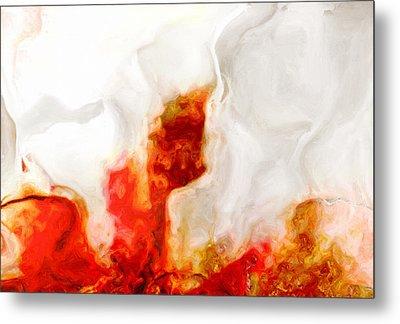 Eruption Metal Print by Jack Zulli