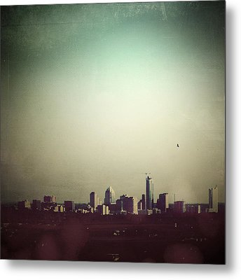 Escaping The City Metal Print by Trish Mistric