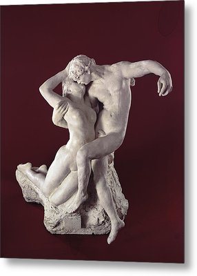 Eternal Springtime Metal Print by Auguste Rodin