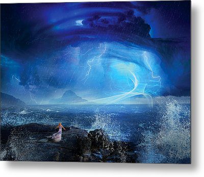 Etherstorm Metal Print by Philip Straub