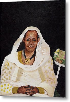 Ethiopian Woman Metal Print by Jeremy Phelps