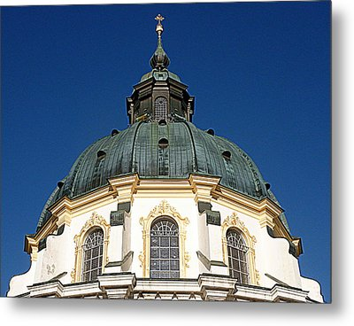 Ettal Abbey Bavaria Metal Print by The Creative Minds Art and Photography