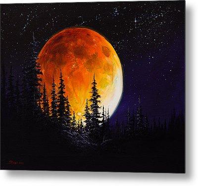 Ettenmoors Moon Metal Print by C Steele