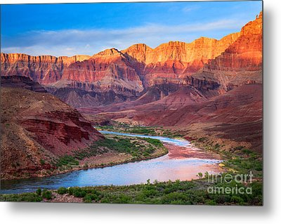 Evening At Cardenas Metal Print by Inge Johnsson
