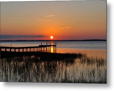 Evening Calm  Metal Print by James Lewis