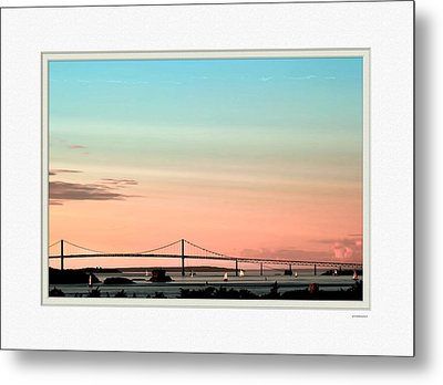 Evening Glow Metal Print by Tom Prendergast