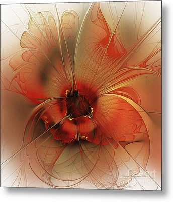 Evening Queen Metal Print by Karin Kuhlmann