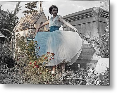 Ever Seen An Alice With A Blossom Like That Metal Print by Tracy  Tanner