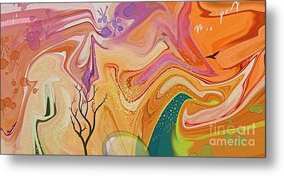 Everlasting Metal Print by Peggy Gabrielson
