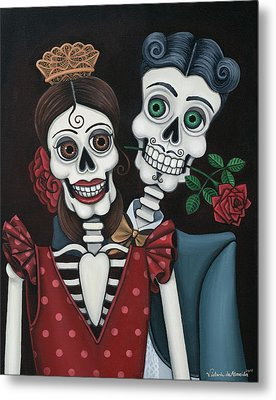 Every Juan Loves Carmen Metal Print by Victoria De Almeida