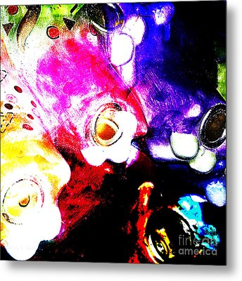 Everyday Abstract 41 Metal Print by Nancy E Stein