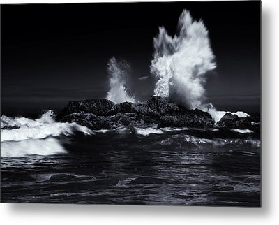 Explosion Metal Print by Mike  Dawson