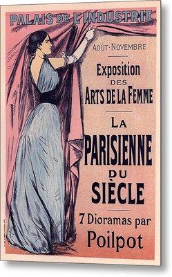 Exposition Des Arts De La Femme Metal Print by Gianfranco Weiss