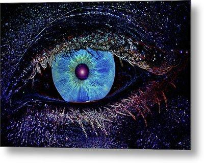 Eye In The Sky Metal Print by Joann Vitali