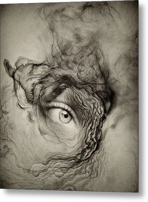 Eye Of The I Metal Print by Gun Legler