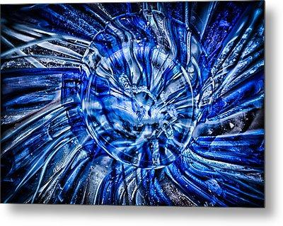 Eye Of The Storm Metal Print by Omaste Witkowski