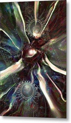 Eye Of The Universe Metal Print by Linda Sannuti
