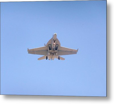 Fa-18ef Super Hornet Metal Print by Amy Ernst