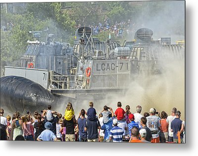 Fabulous Hovercraft Opsail 2012 Metal Print by Marianne Campolongo
