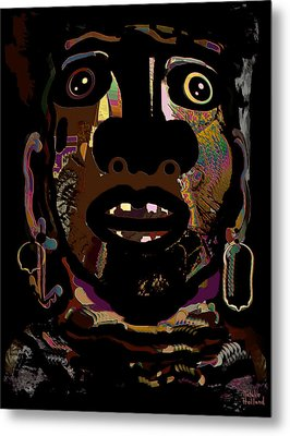 Face 15 Metal Print by Natalie Holland