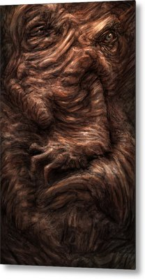 Face Of The Beast Metal Print by Ethan Harris