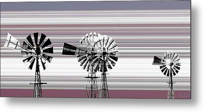 Face To The Wind Metal Print by Holly Kempe