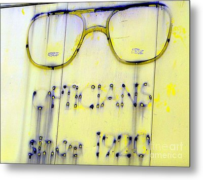 Fading Vision Metal Print by Ed Weidman
