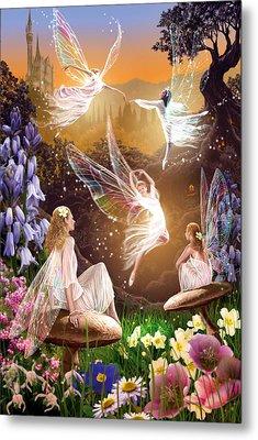 Fairy Ballet Metal Print by Garry Walton