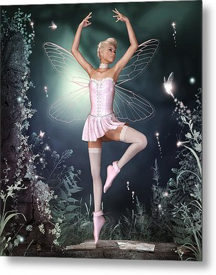 Fairy Dance Metal Print by David Griffith