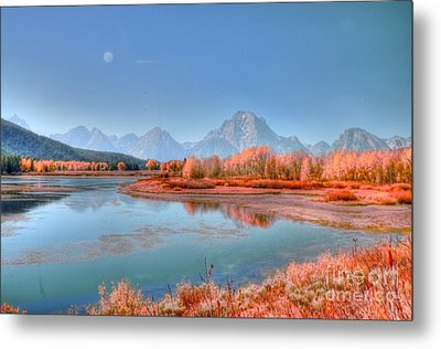 Fall At Oxbow Bend Metal Print by Kathleen Struckle