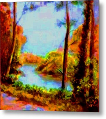 Fall Beauty Metal Print by Hazel Holland