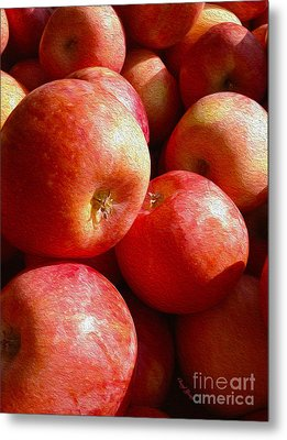 Fall Harvest Metal Print by Cheryl Young