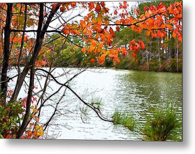 Fall Landscape 1 Metal Print by Lanjee Chee