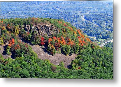 Fall On The Mountain Metal Print by Stephen Melcher
