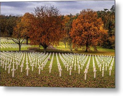 Fallen Soldiers Metal Print by Ryan Wyckoff