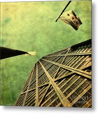 Falling Up Metal Print by Andrew Paranavitana