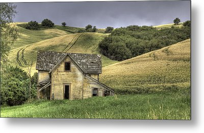 Family House Metal Print by Latah Trail Foundation