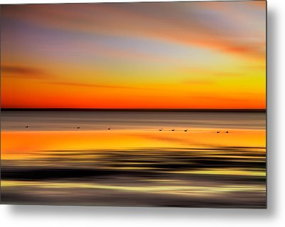 Family Outing - A Tranquil Moments Landscape Metal Print by Dan Carmichael