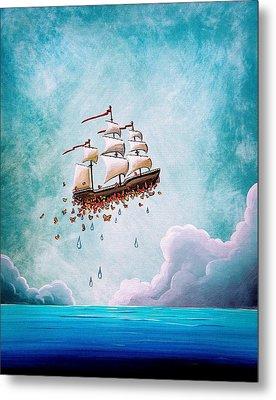 Fantastic Voyage Metal Print by Cindy Thornton