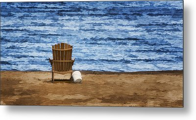 Fantasy Getaway Metal Print by Joan Carroll