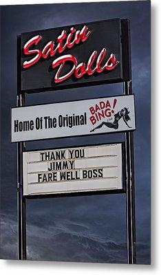 Farewell Boss Metal Print by Susan Candelario