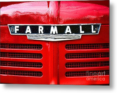 Farmall Metal Print by Olivier Le Queinec