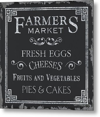 Farmers Market Metal Print by Debbie DeWitt