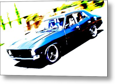 Fast Ford Falcon Metal Print by Phil 'motography' Clark