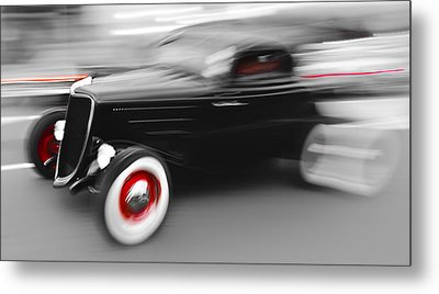 Fast Ford Hot Rod Metal Print by Phil 'motography' Clark