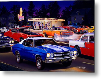 Fast Freds Metal Print by Bruce Kaiser